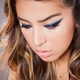 When in doubt wear blue. Major #makeup inspiration from @cyzone_oficial. #eyemakeup