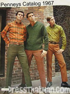 JCPenney 1967 men's fashion catalog.