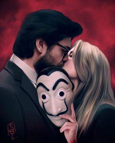 Demon Art, Netflix Series, Halloween Face Makeup, Fangirl, Drawings, Movies, Instagram, Wallpapers, Joker