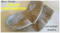 Tutorial calze all'uncinetto, tutorial crochet soc