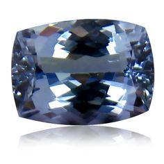 1.18 ct Natural VVS Tanzanite Cushion Cut Loose Gemstone
