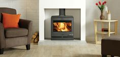 CL8 Wood & Multi-fuel Stove   Yeoman Stoves