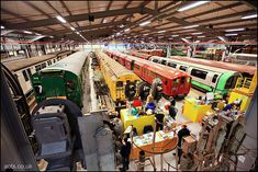 London Transport Museum - Acton Depot They preserve transports, we don't...