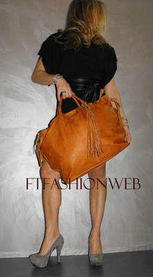 Borsa donna VERA PELLE Bags Shopping 3 colori a mano spalla e tracolla   eBay