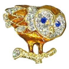 Owl on Branch Pin