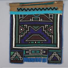suchasensualdestroyer:    Ndebele (South Africa), Woman's Apron, beads/leather, c. 1985.