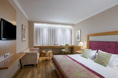 Standard Room, at Divani Caravel Leading Hotels, Beautiful Hotels, Luxury, Bed, Room, Travel, Furniture, Home Decor, Bedroom