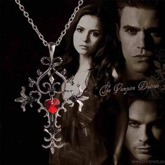 Cross Choker Necklace - The Vampire Diaries