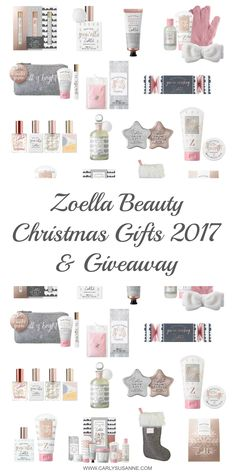 Click here to check out the newly released Zoella Beauty Christmas Gifts 2017 and for the chance to win the Snowella Body Mist!