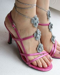 NEW Crochet Barefoot Sandals Nude shoes Foot by marryg on Etsy, $15.00