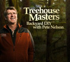 Take a tour of the Treehouse Masters interactive gallery! Treehouse, Masters, Tv Shows, Backyard, Mom, Mens Tops, Master's Degree, Patio, Tree Houses