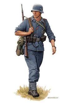 Luftwaffe soldier uniform