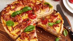Vegetable Pizza, Quiches, Vegetables, Cheese Quiche, Cheese Soup, Ham, Other Recipes, Savory Snacks, Cook