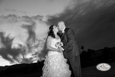 Liz & Lindsay - Nov 2015 #anaphotostudios #weddingphotoideas #skybackdrop #lasvegaswedding #rhodesranchgolfclub