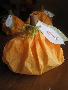 fall treat bags
