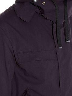 Detachable-hood drawstring-waist parka | Lanvin | MATCHESFASHION.COM