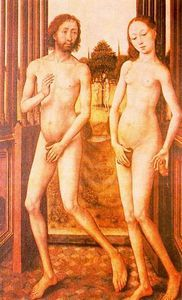 adam et eve - (Jan Van Eyck)