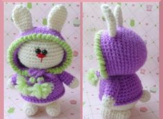 pattern with crochet in rabbit - Practicing Crochet