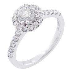 Malakan Jewelry - White Gold Semi-Mount Diamond Engagement Ring 63181AA
