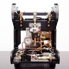 #LaSanMarco #Practical #Espresso #Machine #Restoration #Coffee #Udine #Italia