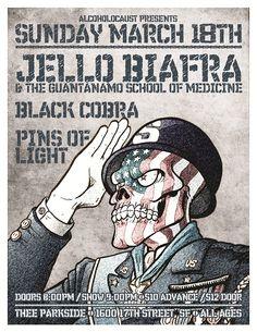 Jello Biafra & The Guantanamo School of Medicine