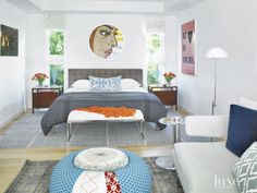 Modern White Miami Home with Eclectic Interiors | LuxeDaily - Design Insight from the Editors of Luxe Interiors + Design
