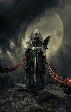 Ideas Fantasy Art Dark Horror For 2019 Dark Fantasy Art, Fantasy Kunst, Fantasy Artwork, Grim Reaper Art, Grim Reaper Tattoo, Arte Obscura, Dark Lord, Gothic Art, Dark Souls
