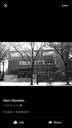 """The Max Strauss Center or the """"J"""" on Wilson Avenue in Albany Park"""