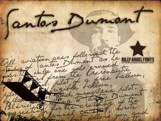 Santos Dumont   dafont.com