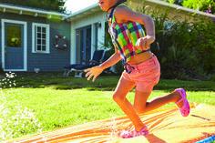 Slip n' slide in your Crocs this summer!
