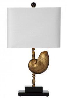 Bassett Mirror Sea Shell Table Lamp