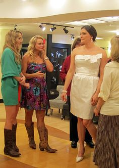 Pistol Annies on Say Yes to the Dress. How did I not see this episode!!!
