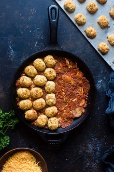Cajun Cauliflower Tot Casserole - This lower carb, cheesy casserole is made of spicy, Cajun cauliflower tater tots! It's a healthy, gluten free weeknight dinner that the whole family will love! | Foodfaithfitness.com | @FoodFaithFit