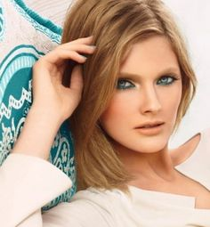 Loving the aqua bronze look here... check out The Estée Lauder Spring 2012 Pure Color Topaz Collection to get the same look!