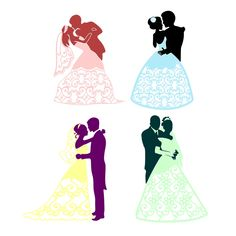 Wedding Pack Cuttable Design Cut File. Vector, Clipart, Digital Scrapbooking Download, Available in JPEG, PDF, EPS, DXF and SVG. Works with Cricut, Design Space, Cuts A Lot, Make the Cut!, Inkscape, CorelDraw, Adobe Illustrator, Silhouette Cameo, Brother ScanNCut and other software.