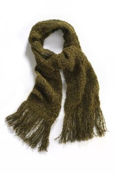 Tabask Solid Boucle Alpaca Scarf  Sale Price : $29.99, was $42.90. Made fairly in Arequipa, Peru. 78% Alpaca, 5% nylon and 17% wool. A warm, comfortable choice!