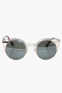 I want these ...Gold Sunglasses