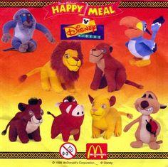Lion King knuffles / broodtrommels / bekers