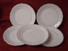 Walbrzych / Southington China Dinnerware Empire Set 5 salad plate