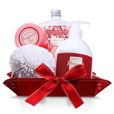 Pomegranate Spa ($29.99)- Enjoy a day pampering yourself with this wonderful Spa Gift. This tote includes Lauren Nichole Pomegranate Lotion, Cream and Polisher.