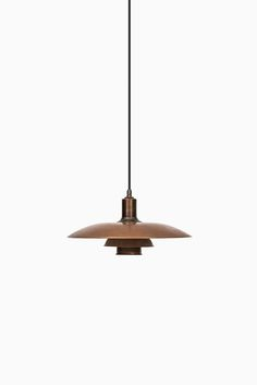 Poul Henningsen PH-2 ceiling lamp in copper at Studio Schalling