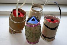 fastelavnstønde03 Christmas Crafts For Toddlers, Winter Crafts For Kids, Toddler Christmas, Toddler Crafts, Santa Crafts, Reindeer Craft, Gingerbread Man Crafts, Diy Snowman Decorations, Boredom Busters For Kids