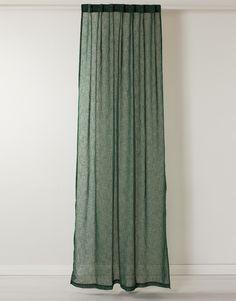 LINDA gardin grön | Curtain | Curtain | Gardiner | Home | INDISKA Shop Online