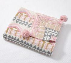 Emily & Meritt Printed Stroller Blankets | Pottery Barn Kids