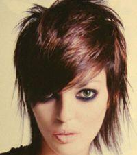 short gothic hair styles pics