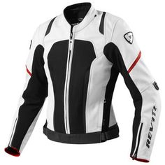The Galactic jacket by REVIT. Didn't think I'd like white, but after wearing one for a few days, I think I could manage :) White Motorcycle, Motorcycle Outfit, Motorcycle Accessories, Motorbike Clothing, Motorcycle Leather, Riding Jacket, Riding Gear, Biker Chick, Biker Girl