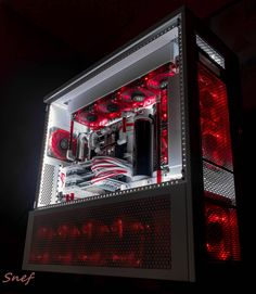 "Gaming Rig from Snef Design codename : "" Blood Angel """