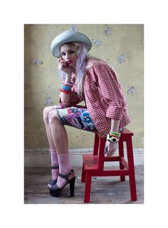 Pastel Grunge Photoshoots : Material Girl Spring 2012