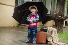 Free Image on Pixabay - Suitcase, Rain, Street, Wet Free Pictures, Free Photos, Free Images, Post Für Den Tiger, Rain Street, Baby Equipment, Toddler Travel, Baby Supplies, Wet Weather