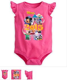 Disney  Mickey Mouse and Friends Bodysuit for Baby  Walt Disney World 2015  18  24 mos  NEW ** You can find out more details at the link of the image.